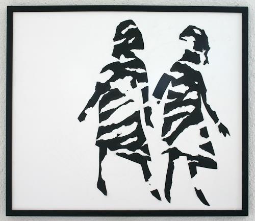 Marianne Tralau, 2 Figuren, Bewegung, Menschen: Frau