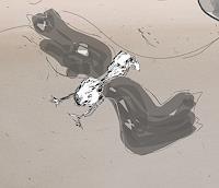 Rotraut-Richter-Diverse-Tiere-Skurril-Gegenwartskunst--New-Image-Painting