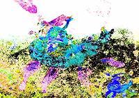Rotraut-Richter-Landschaft-Fruehling-Diverse-Gefuehle-Gegenwartskunst--New-Image-Painting