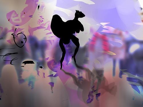 Rotraut Richter, Bielefeld 15, Situationen, Spiel, New Image Painting