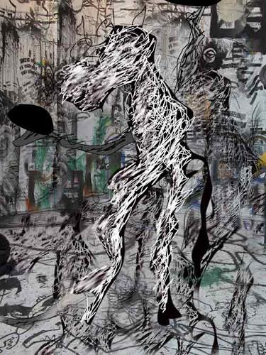 Rotraut Richter, FantaPferd im Multikulti, Zeiten: Heute, Situationen, New Image Painting