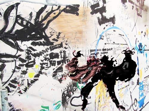 Rotraut Richter, Fantafurie in Multikulti, Diverses, Situationen, New Image Painting