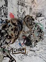 Rotraut-Richter-Situationen-Skurril-Gegenwartskunst-New-Image-Painting