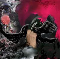 Rotraut-Richter-Diverse-Tiere-Situationen-Gegenwartskunst-New-Image-Painting