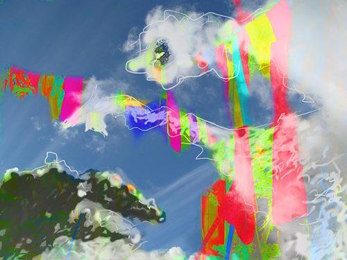 Rotraut Richter, Zauberer Samb - dOKUMENTA 13, Mythologie, Situationen, New Image Painting, Abstrakter Expressionismus