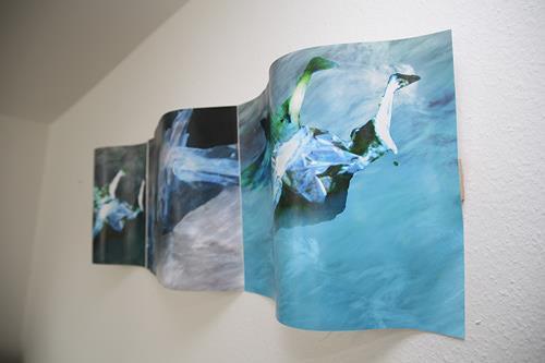 Rotraut Richter, Fließendes Gewässer, Bewegung, Landschaft: See/Meer, New Image Painting