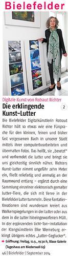 Rotraut Richter, Bielefelder Artikel, Diverses, Situationen, Gegenwartskunst