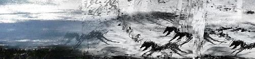 Rotraut Richter, Invasionen der Fantatiere, Skurril, Diverse Tiere, Gegenwartskunst, Abstrakter Expressionismus