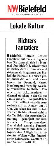 Rotraut Richter, NW-Bielefeld-Artikel, Diverses, Skurril, Gegenwartskunst