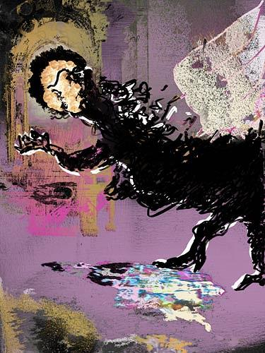 Rotraut Richter, In Venedigkirche, Situationen, Mythologie, New Image Painting, Abstrakter Expressionismus