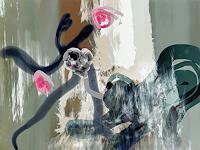 Rotraut-Richter-Diverse-Tiere-Fantasie-Gegenwartskunst-New-Image-Painting