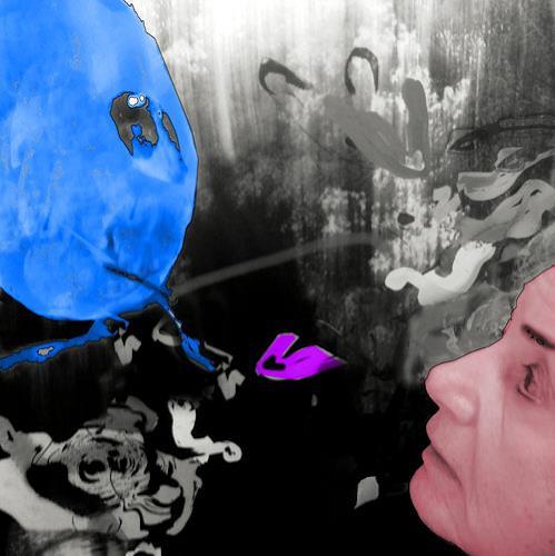 Rotraut Richter, Ich im Bild, Spiel, Situationen, Gegenwartskunst, Abstrakter Expressionismus