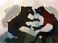 Rotraut-Richter-Skurril-Diverse-Tiere-Gegenwartskunst-New-Image-Painting