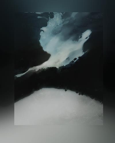 Rotraut Richter, Eiskalt, Natur: Diverse, Zeiten: Zukunft, Gegenwartskunst, Abstrakter Expressionismus