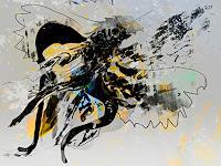 Rotraut-Richter-Tiere-Luft-Skurril-Gegenwartskunst-New-Image-Painting