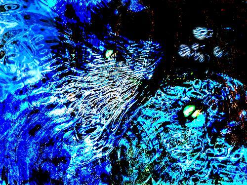 Rotraut Richter, Meerestiere 2, Skurril, Tiere: Wasser, Gegenwartskunst
