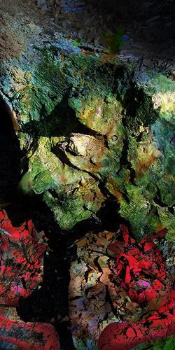 Rotraut Richter, WURZELMÄNNCHEN + CO, Skurril, Fantasie, Gegenwartskunst, Abstrakter Expressionismus