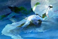 Rotraut-Richter-Fantasie-Tiere-Wasser-Gegenwartskunst-Gegenwartskunst