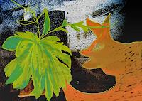 Rotraut-Richter-Fantasie-Natur-Luft-Gegenwartskunst--New-Image-Painting