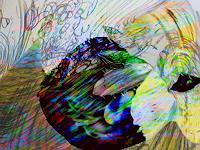 Rotraut-Richter-Fantasie-Natur-Diverse-Gegenwartskunst--New-Image-Painting