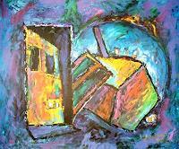Vlado-Franjevi--263;-Bauten-Haus-Abstraktes-Moderne-Abstrakte-Kunst