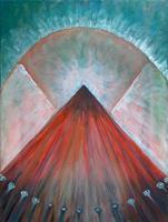 Vlado-Franjevi--263;-Skurril-Moderne-Abstrakte-Kunst-Colour-Field-Painting