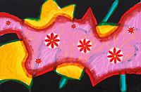 Vlado-Franjevi--263;-Pflanzen-Blumen-Abstraktes-Moderne-Abstrakte-Kunst