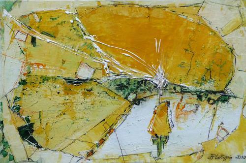 Philippin, Inge, Happy Day, Abstraktes, Gegenwartskunst, Expressionismus