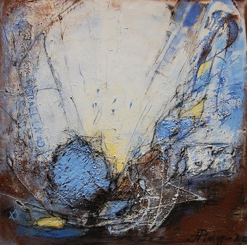 Philippin, Inge, Crossing Red Sea, Glauben, Religion, Abstrakter Expressionismus