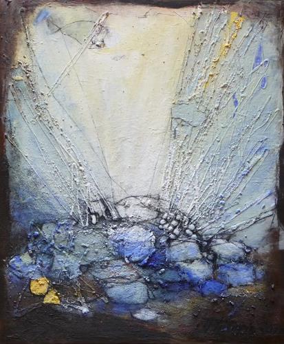 Philippin, Inge, Escaping through waters, Abstraktes, Gegenwartskunst