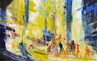 Philippin--Inge-Abstraktes-Wohnen-Stadt-Moderne-Expressionismus-Abstrakter-Expressionismus