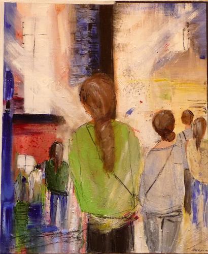 Philippin, Inge, Seekers, Menschen: Gruppe, Bauten: Kirchen, expressiver Realismus, Expressionismus