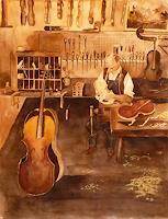 Philippin, Inge, Geigenbauer-Werkstatt