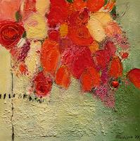 Philippin--Inge-Pflanzen-Blumen-Natur-Diverse-Moderne-Expressionismus-Abstrakter-Expressionismus