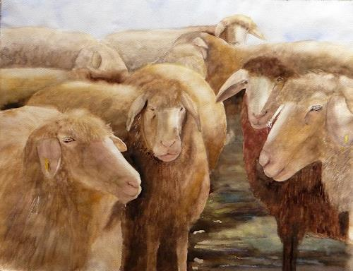 Philippin, Inge, Landschaftshüter, Tiere: Land, Glauben, Gegenwartskunst, Expressionismus