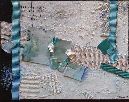Philippin, Inge, Estates 2, Architektur, Dekoratives, Gegenwartskunst, Expressionismus