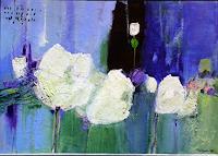 Philippin--Inge-Pflanzen-Blumen-Dekoratives-Gegenwartskunst-Gegenwartskunst