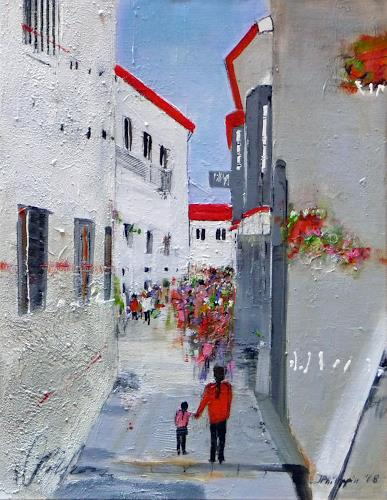 Philippin, Inge, Arcos, Architektur, Wohnen: Dorf, Gegenwartskunst