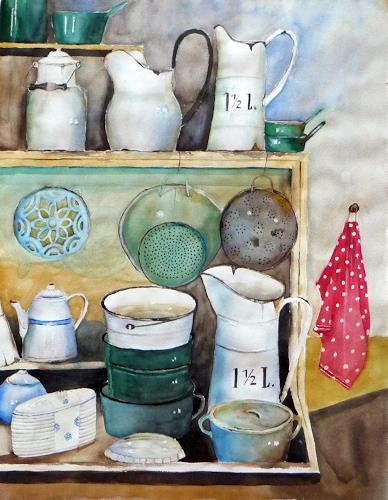 Philippin, Inge, Küchenutensilien, Essen, Zeiten: Früher, Gegenwartskunst, Expressionismus