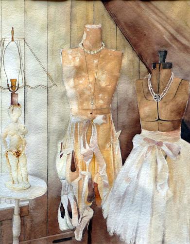 Philippin, Inge, Schneider-Puppen, Arbeitswelt, Fashion, Gegenwartskunst, Expressionismus