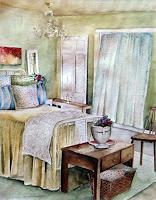 Philippin, Inge, Rosa's Schlafzimmer