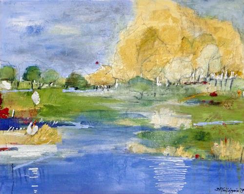 Philippin, Inge, Seascape, Landschaft: See/Meer, Gefühle: Geborgenheit, Gegenwartskunst