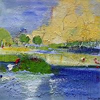 Philippin--Inge-Landschaft-See-Meer-Gefuehle-Geborgenheit-Gegenwartskunst-Gegenwartskunst