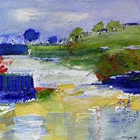 Philippin--Inge-Landschaft-Fruehling-Gefuehle-Freude-Gegenwartskunst-Gegenwartskunst