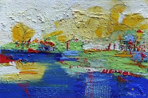 Philippin, Inge, Finally Summer 2, Landschaft: Sommer, Gefühle: Freude, Gegenwartskunst