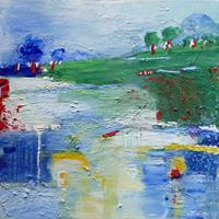Philippin--Inge-Landschaft-Huegel-Gefuehle-Geborgenheit-Gegenwartskunst-Gegenwartskunst