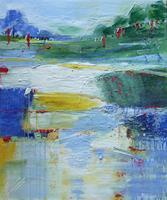 Philippin--Inge-Landschaft-Huegel-Gefuehle-Freude-Gegenwartskunst-Gegenwartskunst