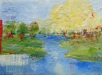 Philippin--Inge-Landschaft-See-Meer-Gefuehle-Freude-Gegenwartskunst-Gegenwartskunst