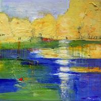 Philippin--Inge-Landschaft-Sommer-Natur-Diverse-Gegenwartskunst-Gegenwartskunst