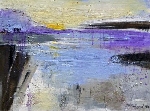 Philippin, Inge, cold days 2, Landschaft: Winter, Natur: Wasser, Gegenwartskunst